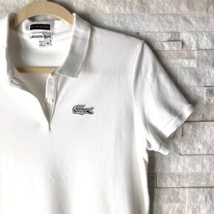 LACOSTE POLO | limited edition white